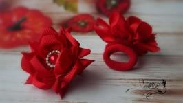 Резинки ′Шипастики′ красные