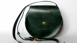 Кожаная сумка «Helga»