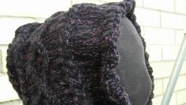 Снуд - капюшон с косами