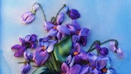 Вышивка ′Весенний букет′