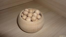 Яблоня 10 штук Бусинки деревянные 16 мм