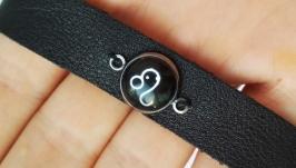 Кожаный браслет ′Leo′ (Лев)