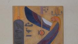 панно декоративное древний Египет богиня-кобра Уаджит