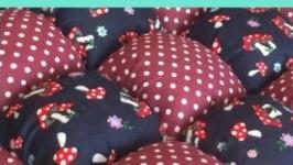 Пуфик текстильный
