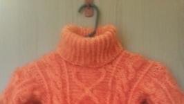 шерстяной свитер оранж