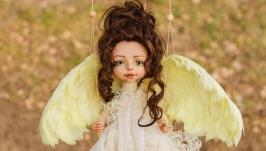 Авторская кукла - Лимонная
