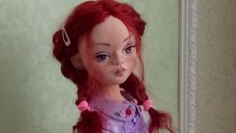 Интерьерная текстильная куколка