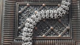 Браслет стальной широкий кольчужного плетения ′Рондо′