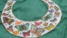 Воротничок, ожерелье ′Butterflies′