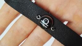 Кожаный браслет ′Libra′ (Весы)