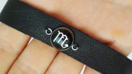 Кожаный браслет ′Scorpio′ (Скорпион)