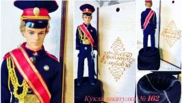 под заказ №162 Подарунок кукла-шкатулка Кадет в подарок
