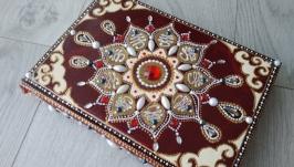 Ежедневник с росписью ′Узоры и знаки′