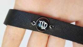 Кожаный браслет ′Virgo′ (Дева)