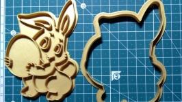 ′Зайка з яйцем′ Форма для печива та пряників