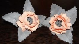 Резинки школьные, резинки с цветами, резинки для девочки