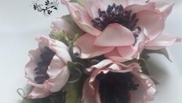 Заколка-автомат ′Розовая нежность′