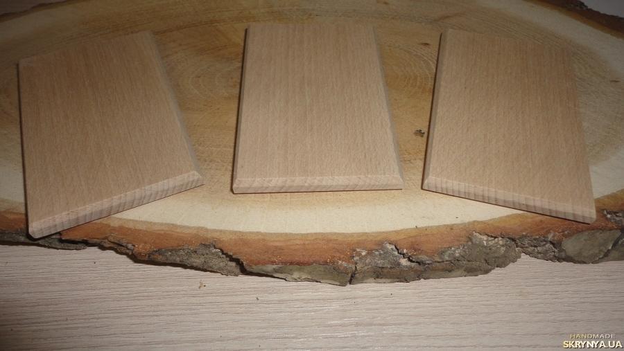 тут изображено Бук. Заготовка деревянная прямоугольная с каемкой