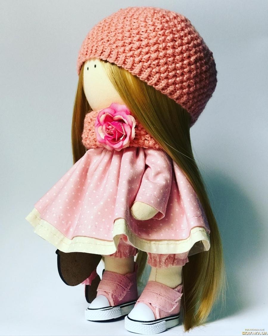 тут изображено Интерьерная куколка ручной работы, есть другие куколки в наличии