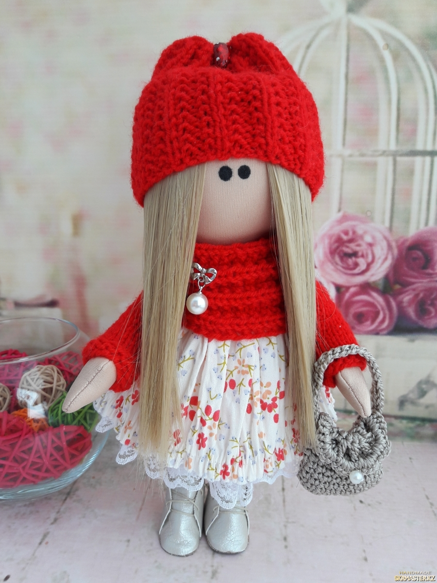 тут изображено Интерьерная кукла Казахстан