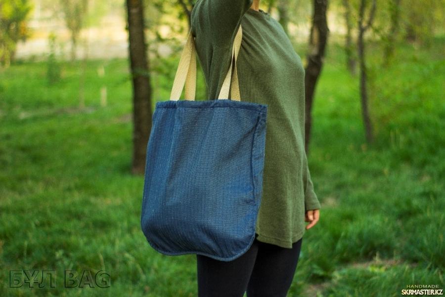 тут изображено Эко сумка - шоппер ′Двухсторонняя′