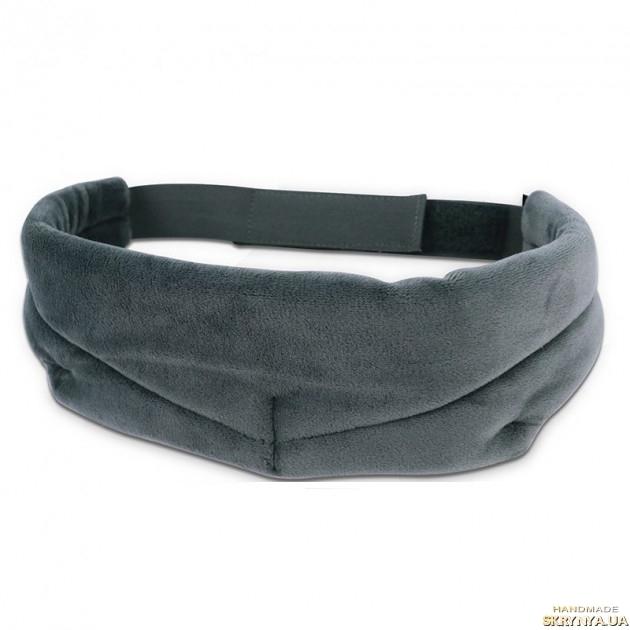 тут изображено Маска для сна с мягким носиком Silenta Comfort Серая