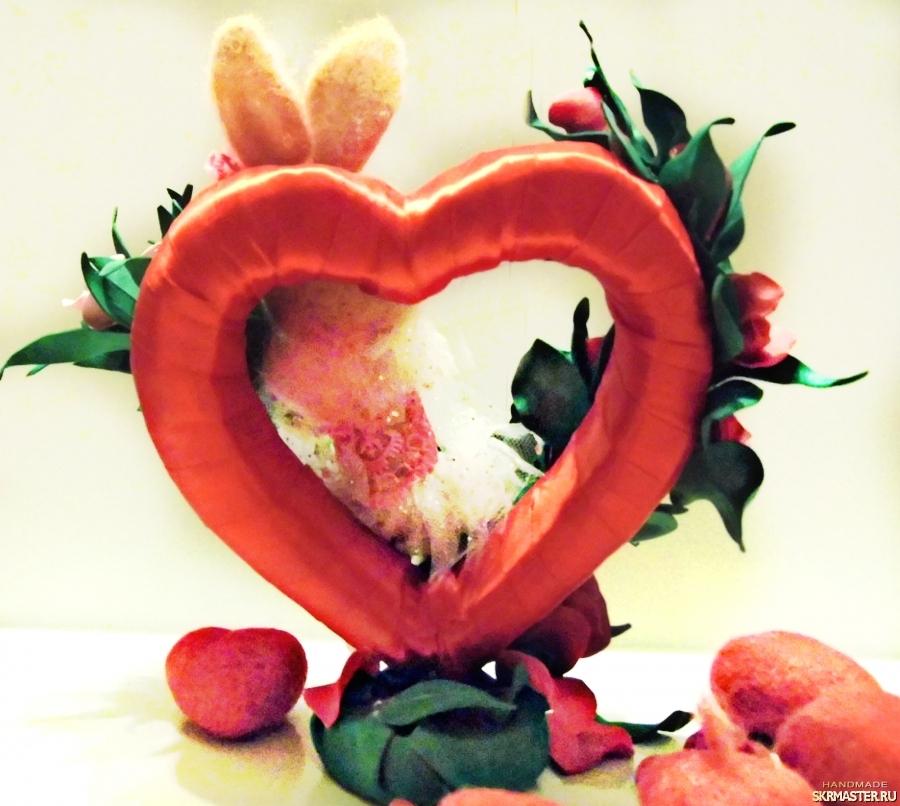 тут изображено Романтичная зайка