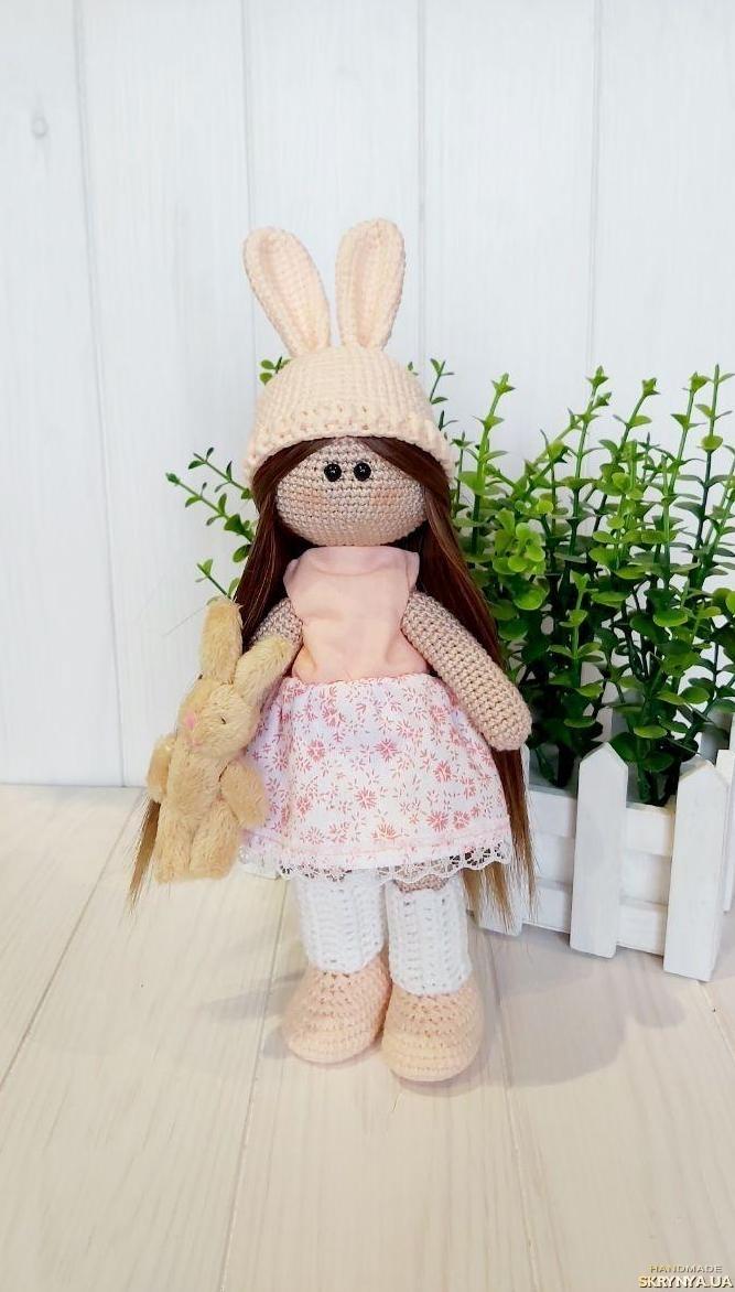 тут изображено Кукла текстильная интерьерная Тильда