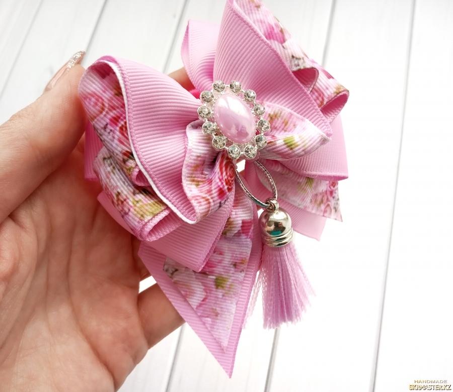 тут изображено Бантики ′Розовая нежность′