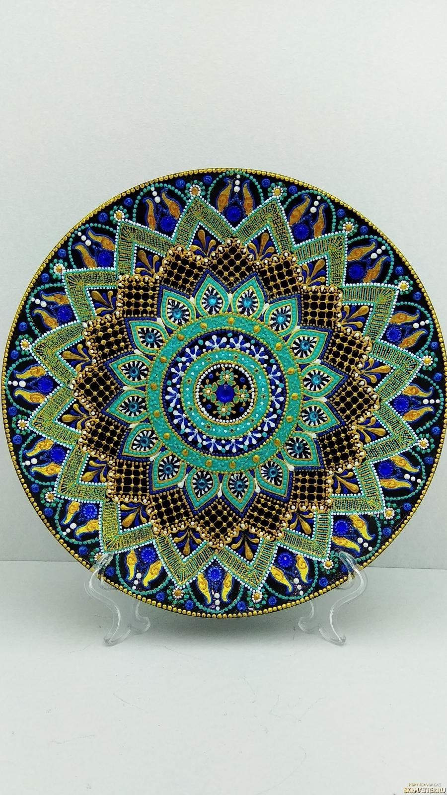 тут изображено Декоративная тарелка ′Шахерезада′