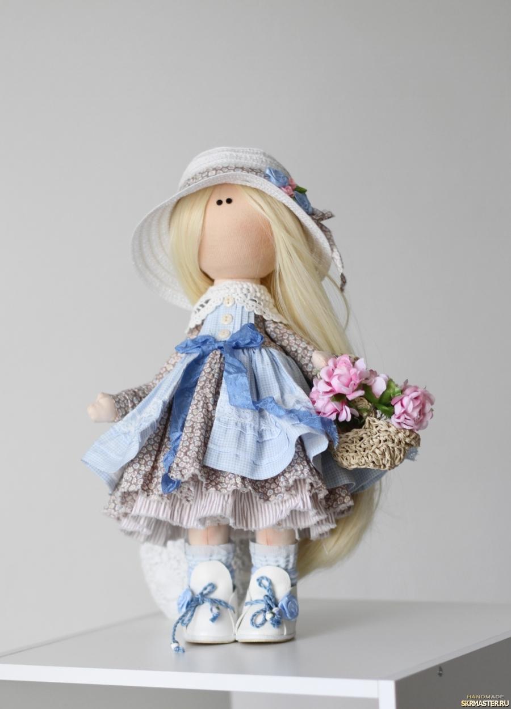 тут изображено Интерьерная текстильная кукла Катрин