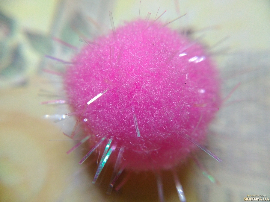 pictured here Textile Beads Pink