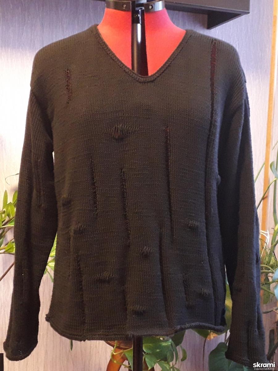 тут изображено Пуловер в стиле ′ ЛАКШЕРИ′