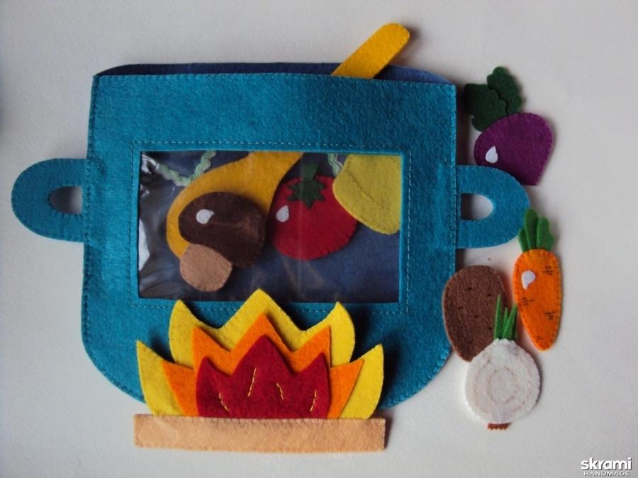 тут изображено сумка-игралка ′Овощи, фрукты, ягоды′