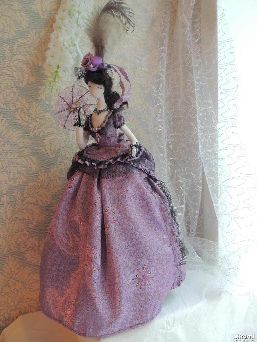 тут изображено Кукла тряпиенс Амелия