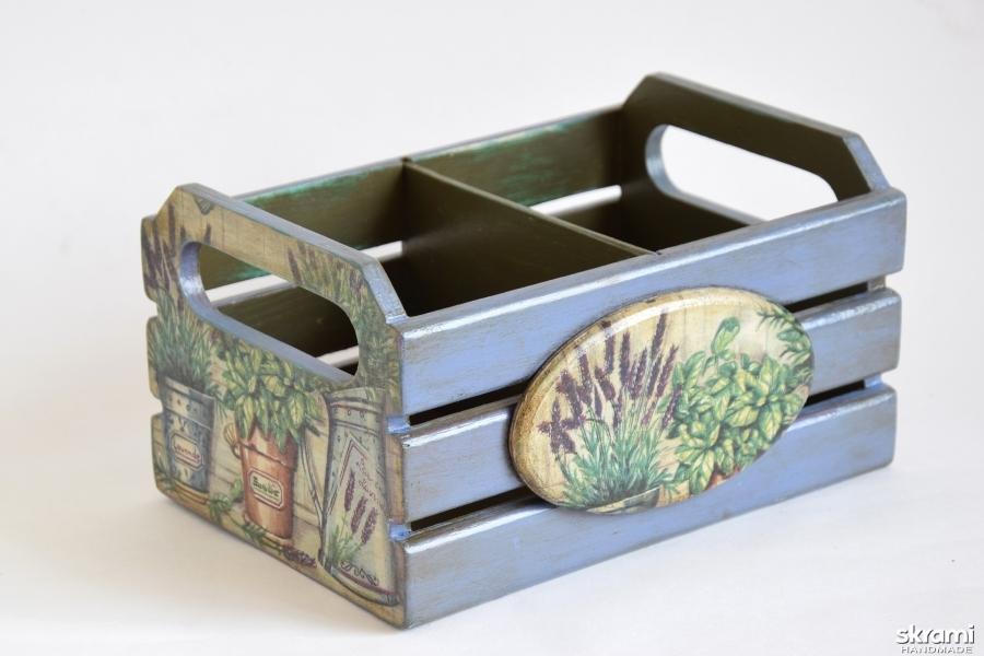 тут изображено Ящик для специй ′Травы Прованса′