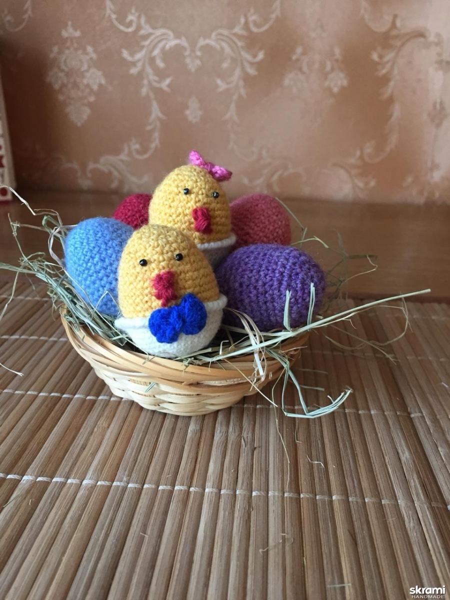 тут изображено Пасхальные яйца