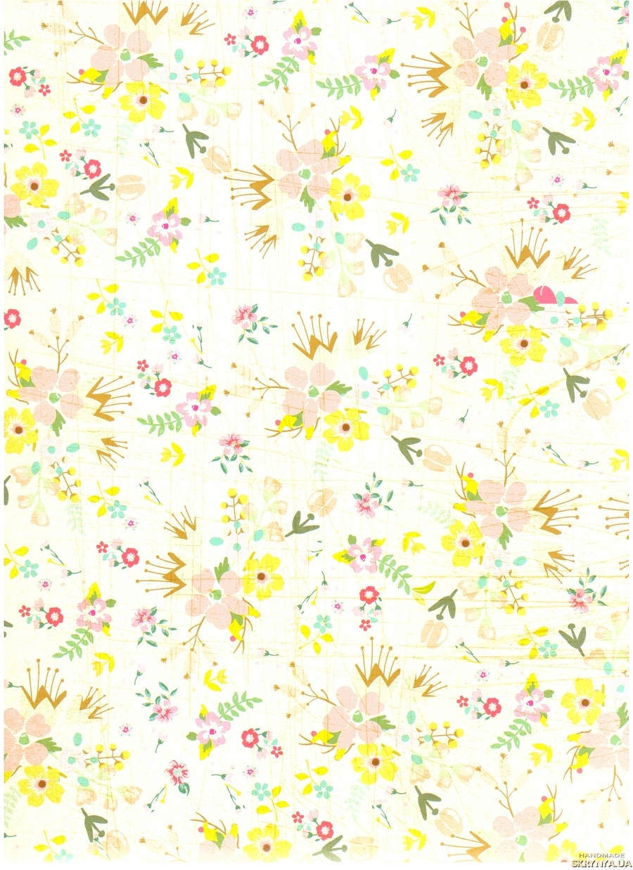 pictured here Scrapbooking paper А3 No. 20