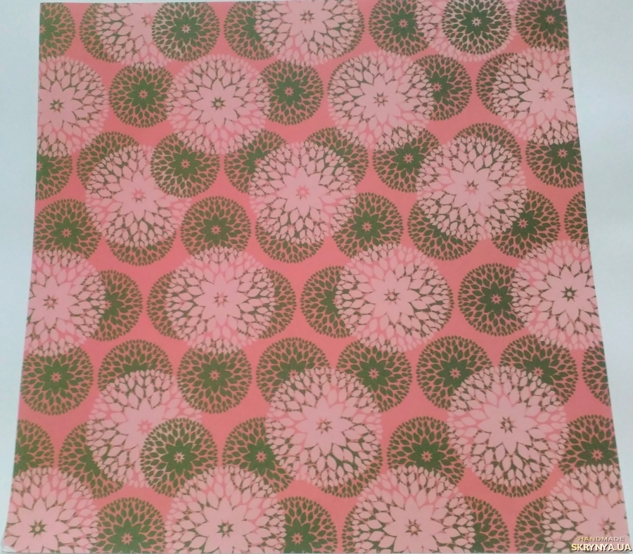 pictured here Scrapbooking paper square 30.5 cm No. 2