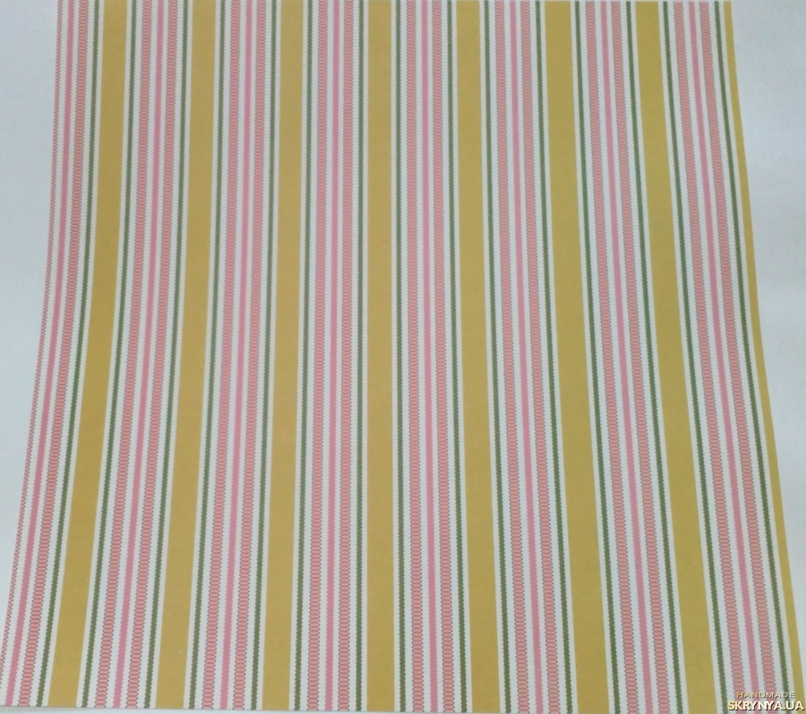 pictured here Scrapbooking paper square 30.5 cm No. 5