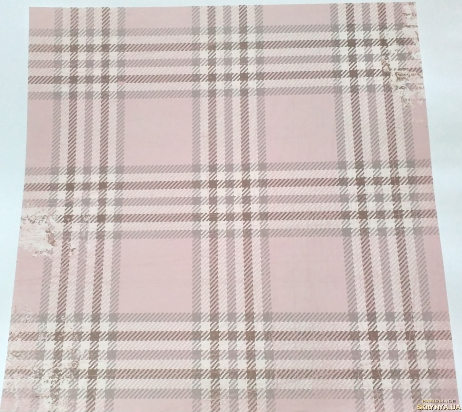 pictured here Scrapbooking paper square 30.5 cm No. 8