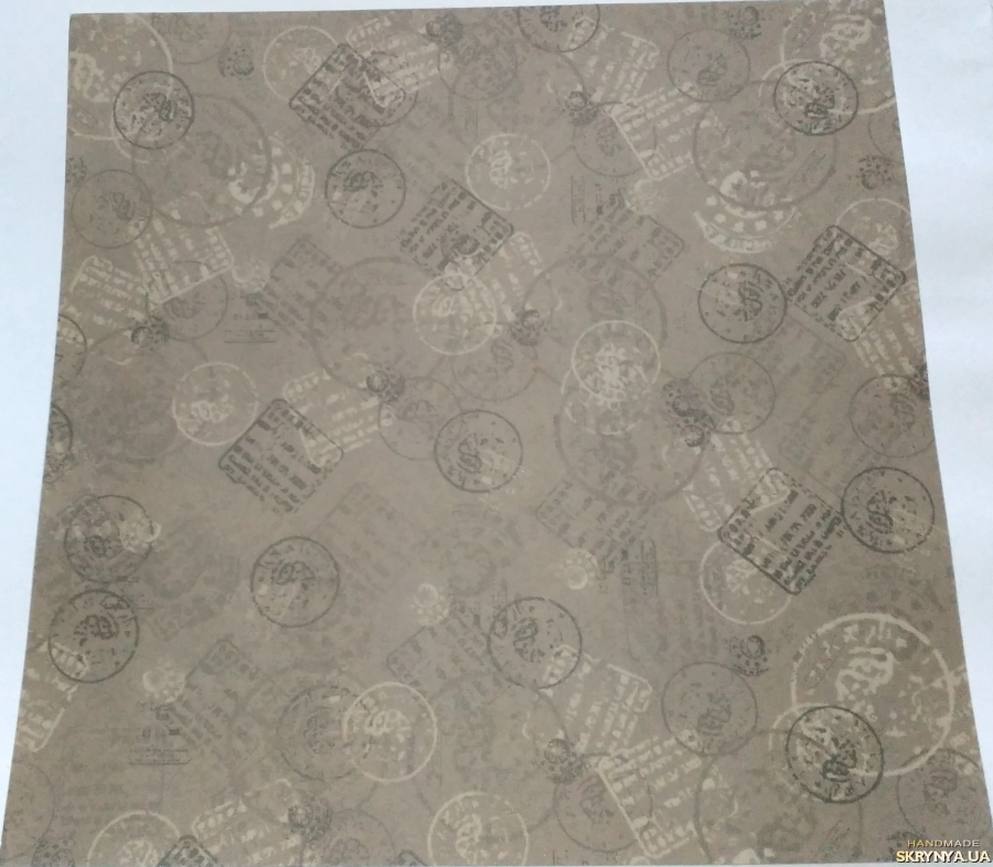pictured here Scrapbooking paper square 30.5 cm No. 9