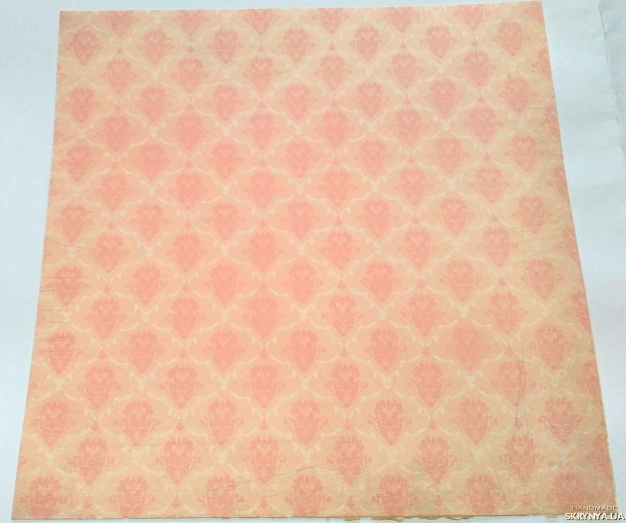 pictured here Scrapbooking paper square 30.5 cm No. 18