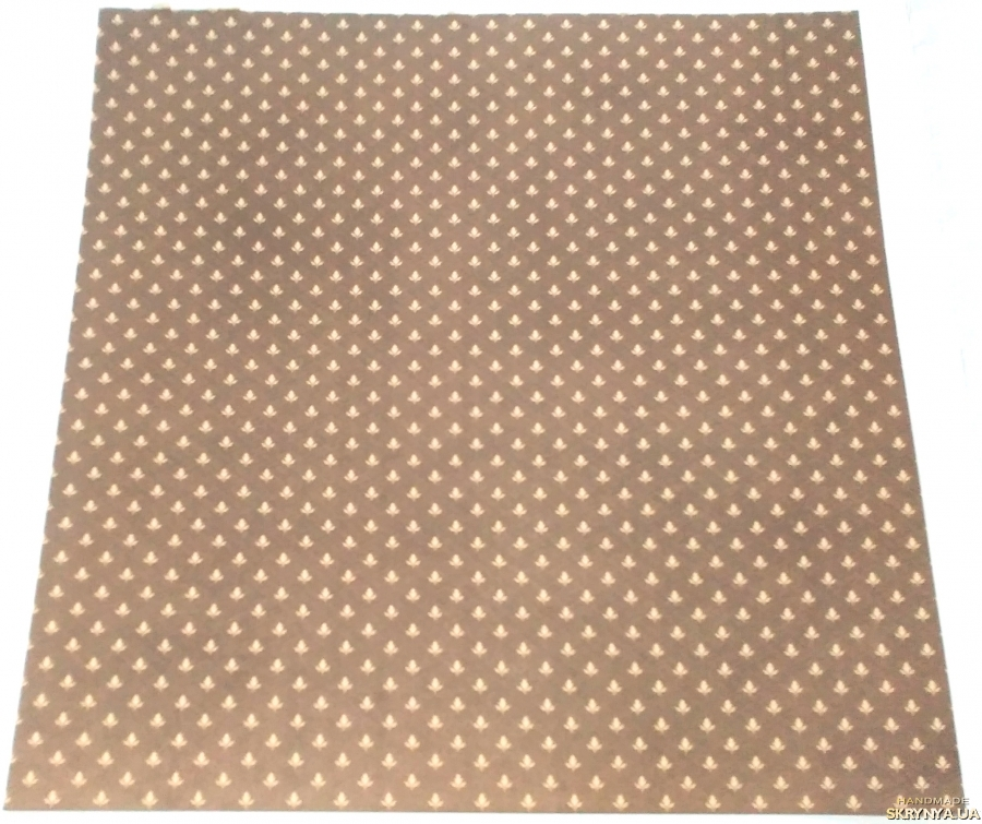 pictured here Scrapbooking paper square 30.5 cm No. 21