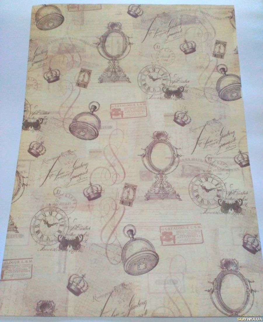 pictured here Scrapbooking paper А2 No. 2
