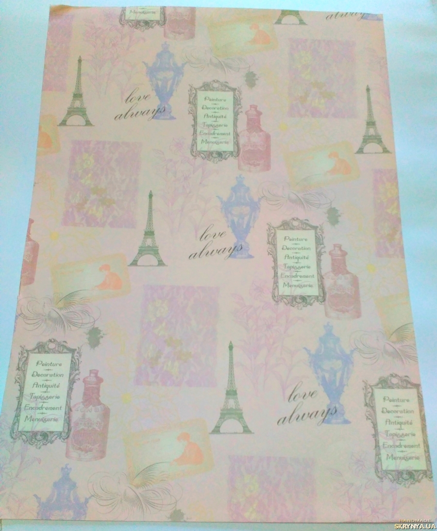 pictured here Scrapbooking paper А2 No. 3