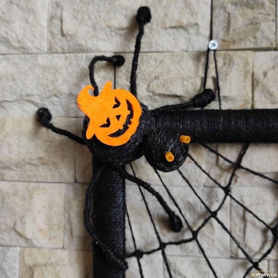 тут изображено Картина Хеллоуин 2020 Черный паук Подарок на хеллоуин Декор
