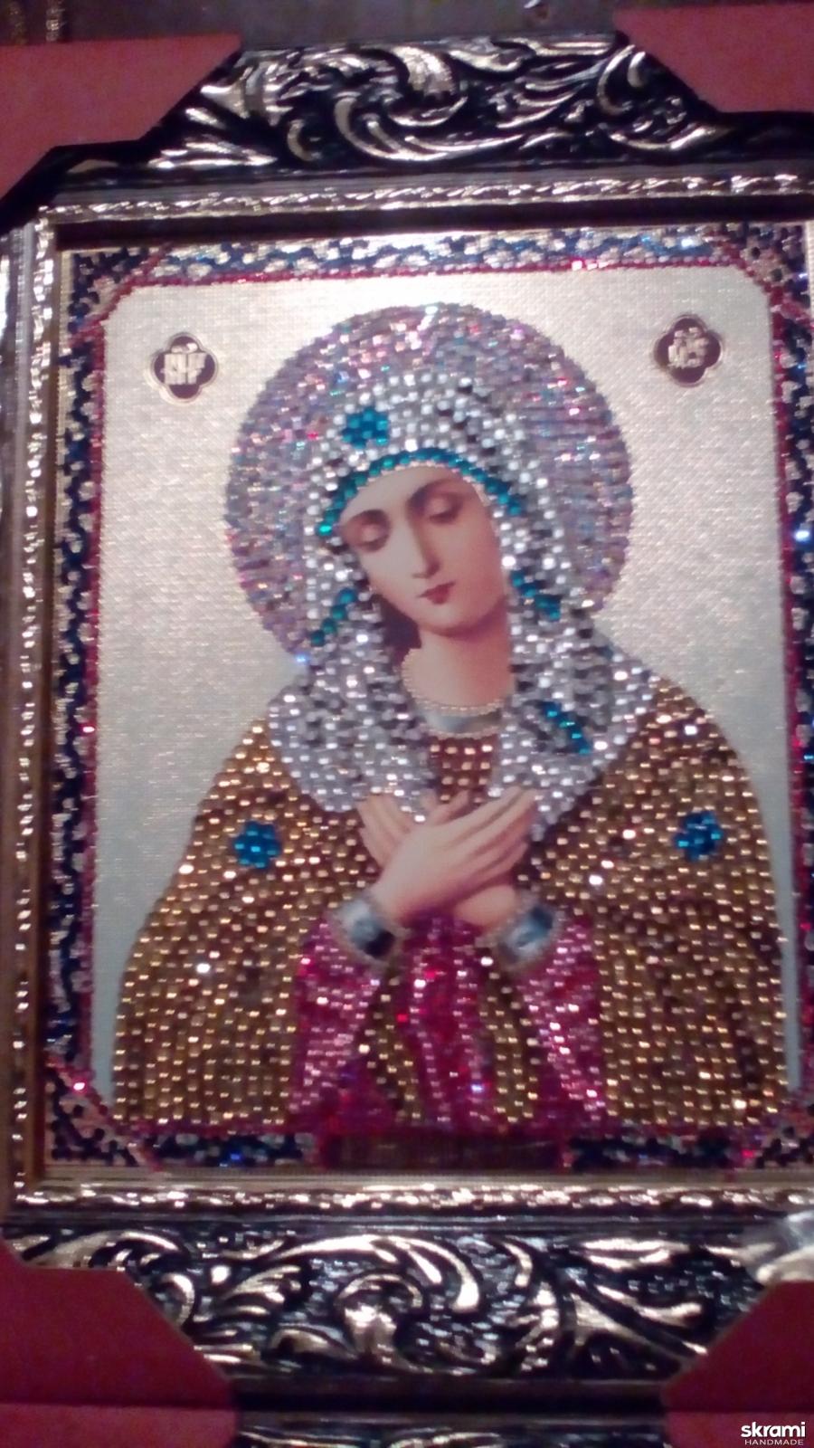 тут изображено Икона Божьей Матери