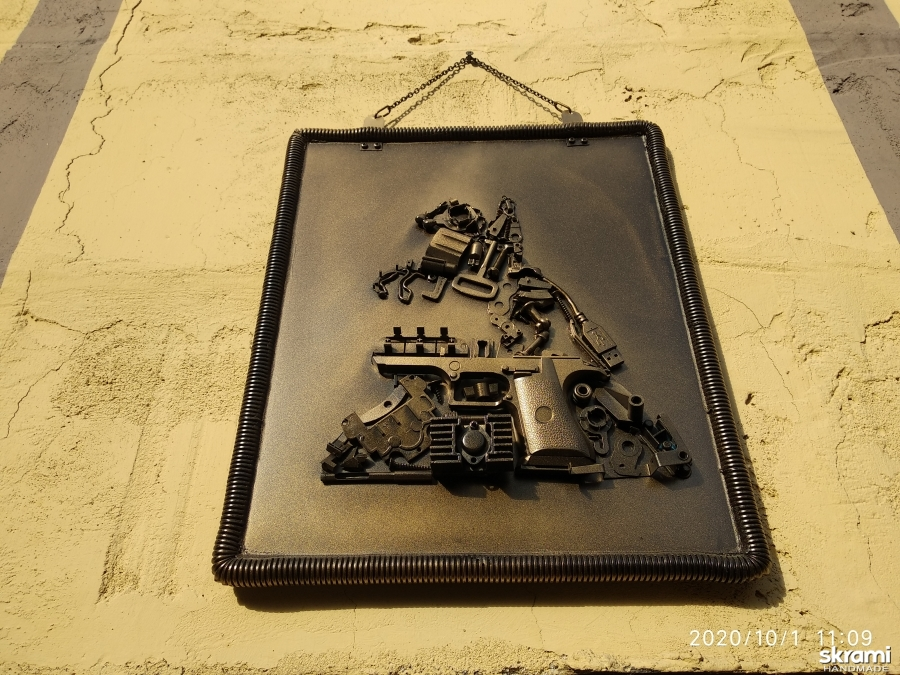 pictured here Panels wall art, Wall decor, Picture, Steampunk, Bronze Horseman