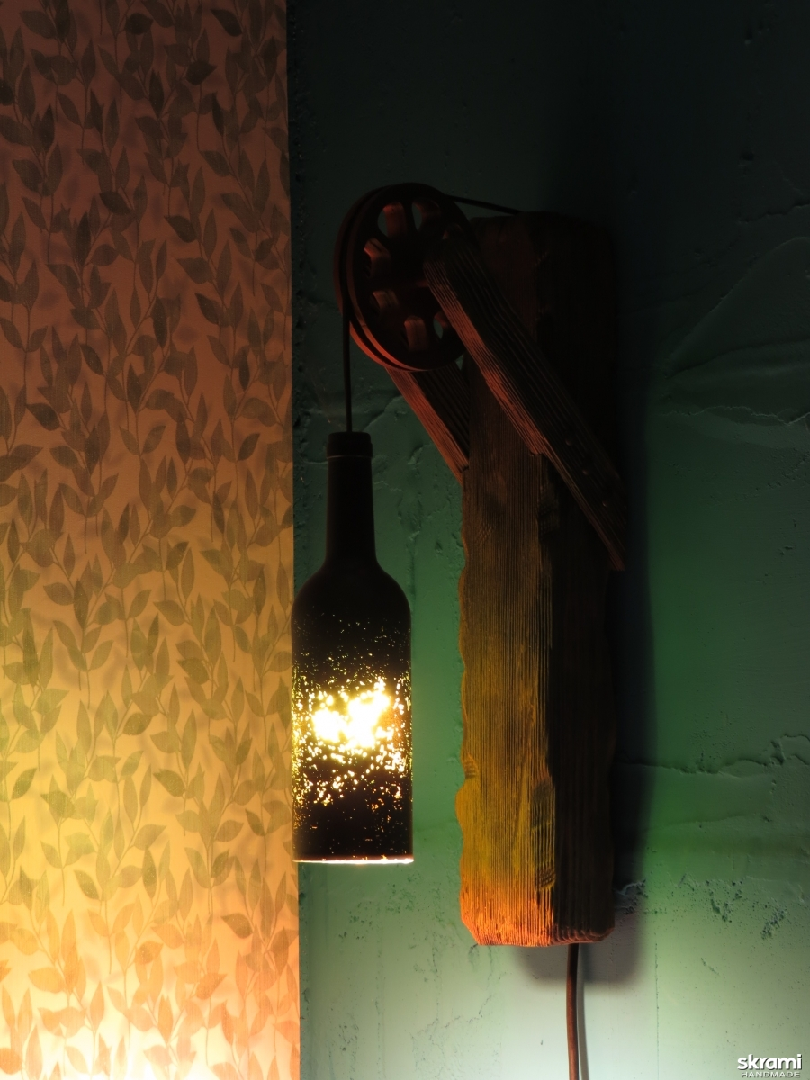 pictured here Wall lamp, Sconce, Night light, Reading lamp